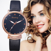 New style Watches Women Top brand Fashion ladies Watches Leather women Analog Quartz Wrist Watch Fashion Clock relogio feminino