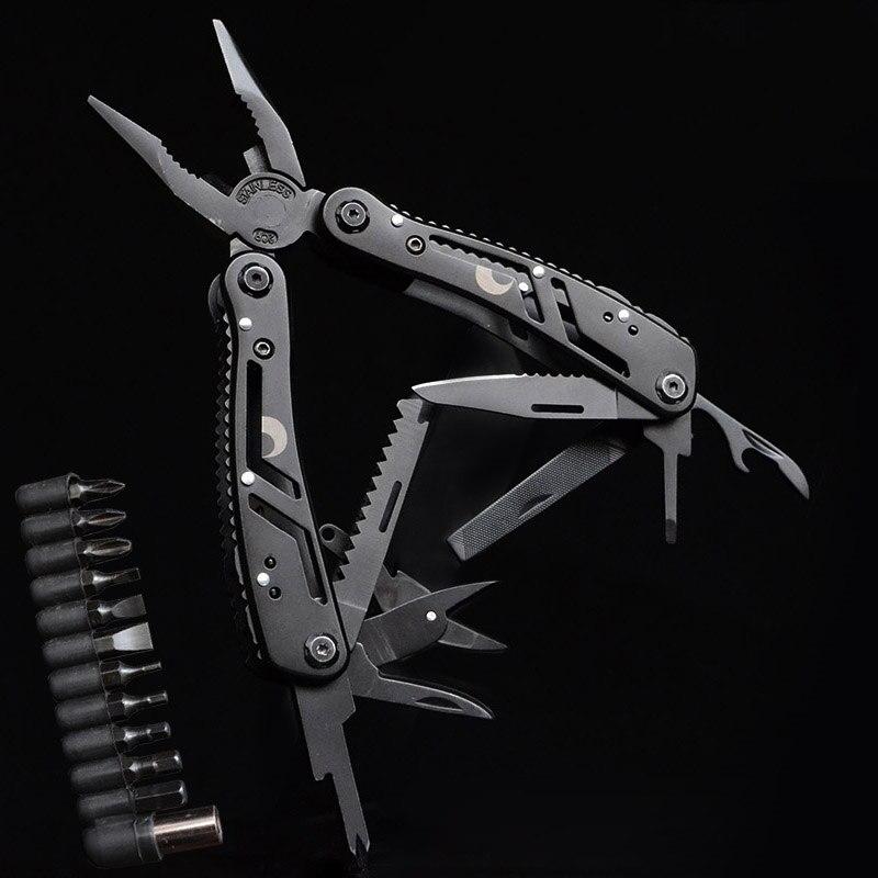 Удобные плоскогубцы стальные внутренние Пружинные многофункциональные плоскогубцы комбинированные складные плоскогубцы многофункциона...