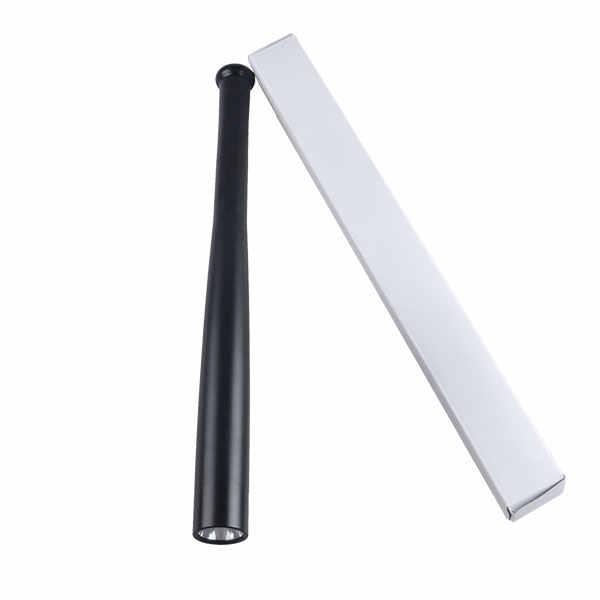 TMWT البيسبول الخفافيش مضيا AAA أو 18650 XP-E Q5 LED السوبر مشرق باتون الشعلة ل الطوارئ الذاتي الدفاع