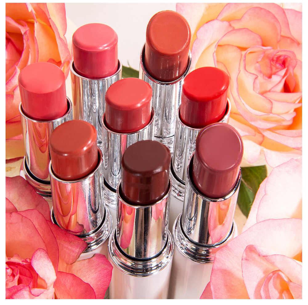 Batom fosco batom à prova dlong água longa duração gloss lábios sexy maquiagem fosco batom natural rosa essência bálsamo labial conjunto