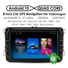 "Car Radio GPS Navigation For Volkswagen Skoda/Golf/ Polo/Passat CC/Touran/Leno/Altea XL/Toledo/VW/EOS 2DIN 8"" Android Multimedia"