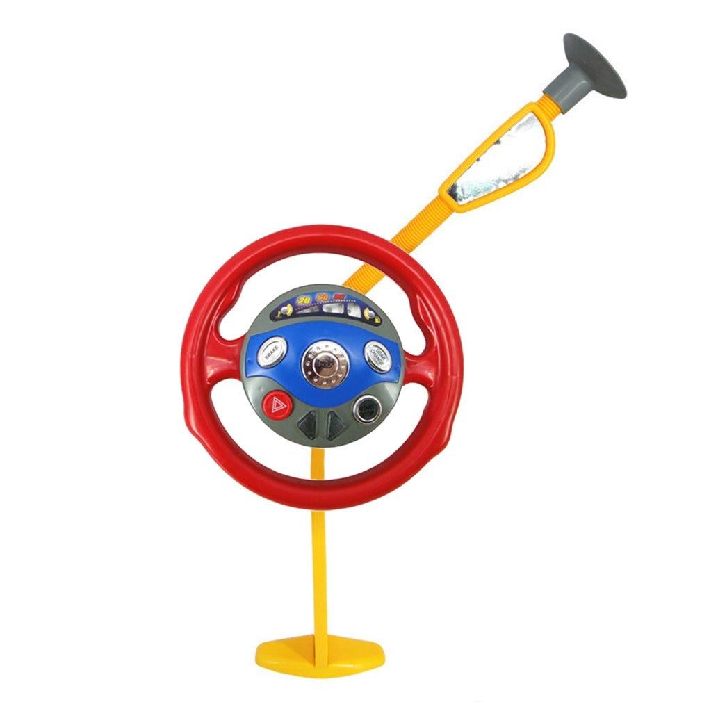 Детская игрушка для игры, забавное электронное заднее сиденье водителя, автомобильное сиденье, рулевое колесо, детская игрушка для вождения