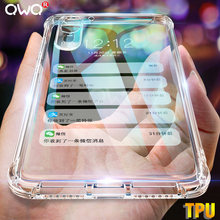 TPU Soft Silicone Case for huawei p20 lite P30 pro Mate 20 10 Lite honor 20 pro Phone Cover for P Smart 2019 NOVA 3 Clear Cases(China)