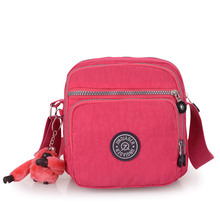 Mini Woman Shoulder Bag Waterproof Nylon Female Crossbody Ladies Bolsa Travel Messenger Womens
