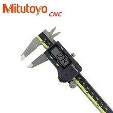 ミツトヨ cnc 液晶キャリパーデジタルノギス 8 インチ 150 200 300 ミリメートル 500 196 20 ノギス電子測定ステンレス鋼