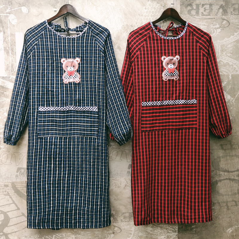 Autumn And Winter Wear-Resistant Long Sleeve Men And Women Pure Cotton Overclothes Thick Adults Work Clothes Protective Clothing