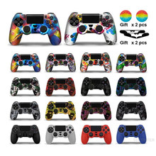 Zachte Siliconen Gel Rubber Case Cover Voor Sony Playstation 4 PS4 Controller Skin Protection Case Voor PS4 Pro Slim Gamepad controle