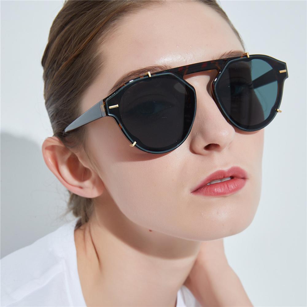 FENCHI pilote lunettes de soleil hommes femmes marque concepteur de mode lunettes de soleil lunettes de haute qualité Oculos Feminino zonnebril dames