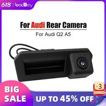 Carlinkit cámara de visión trasera para Audi Q2 A5 vista trasera de coche cámara de visión aparcamiento de copia inversa Cámara gran angular HD Color