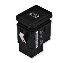 Электронный парковочный переключатель ручного тормоза Кнопка тормоза Замена для Passat B6 2006-2009 3C0927225C