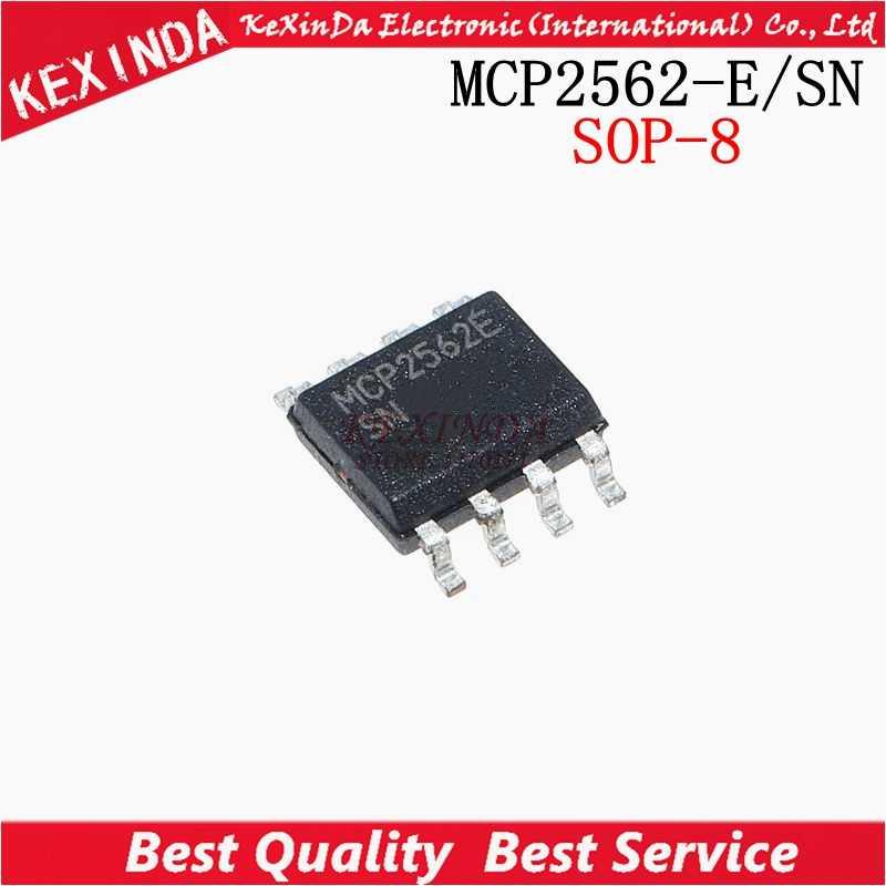Darmowa wysyłka 20 sztuk/partia MCP2562T-E/SN MCP2562-E/SN MCP2562E MCP2562 SOP-8 nowy i oryginalny