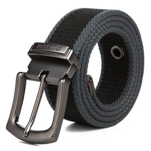 New Military Tactical Belt Men High Quality Canvas Belts for Jeans Male Casual Metal Pin Detachable Buckle Straps Belt ceintures