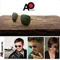 Солнцезащитные очки «Авиатор Для мужчин wo Для мужчин 2021 новые оттенки пилот Американский военный оптический AO солнцезащитные очки, мужские...