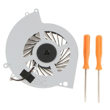 Ksb0912He Internal Cooling Cooler Fan for Ps4 Cuh-1000A Cuh-1001A Cuh-10Xxa Cuh-1115A Cuh-11Xxa Series Console with Tool Kit replacement blu ray lens deck kem 496aaa with kes 496 optical head for ps4 slim cuh 20xx and ps4 pro cuh 70xx playstation 4 r 5