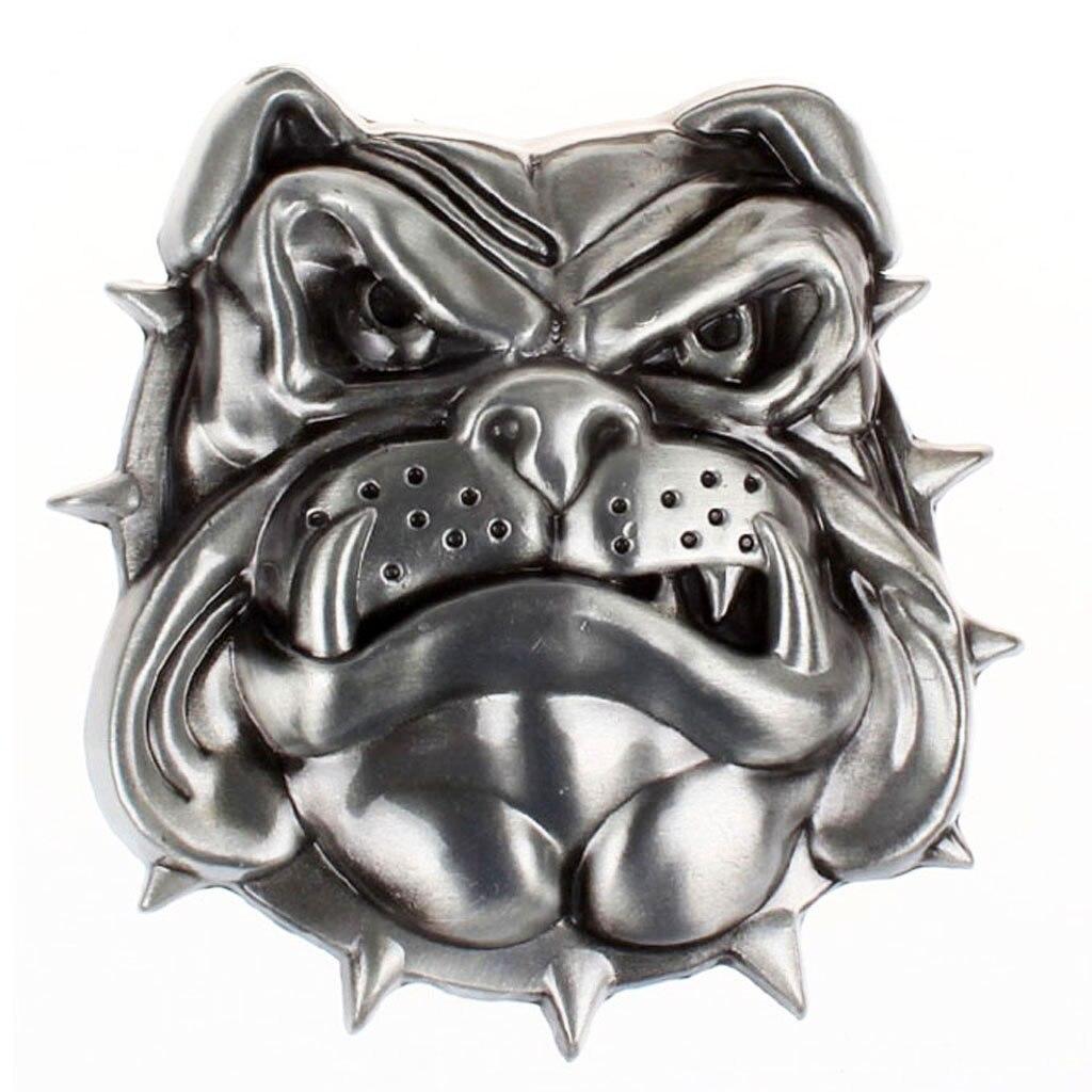 Cool Dog Head Buckle Men's Belt Buckles 3D Punk Clothing Accessories For 3.6-3.9cm Belt