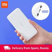 Xiaomi Redmi power Bank 20000 мАч/10000 мАч Двусторонняя Быстрая зарядка 18 Вт Двойной вход двойной USB выход