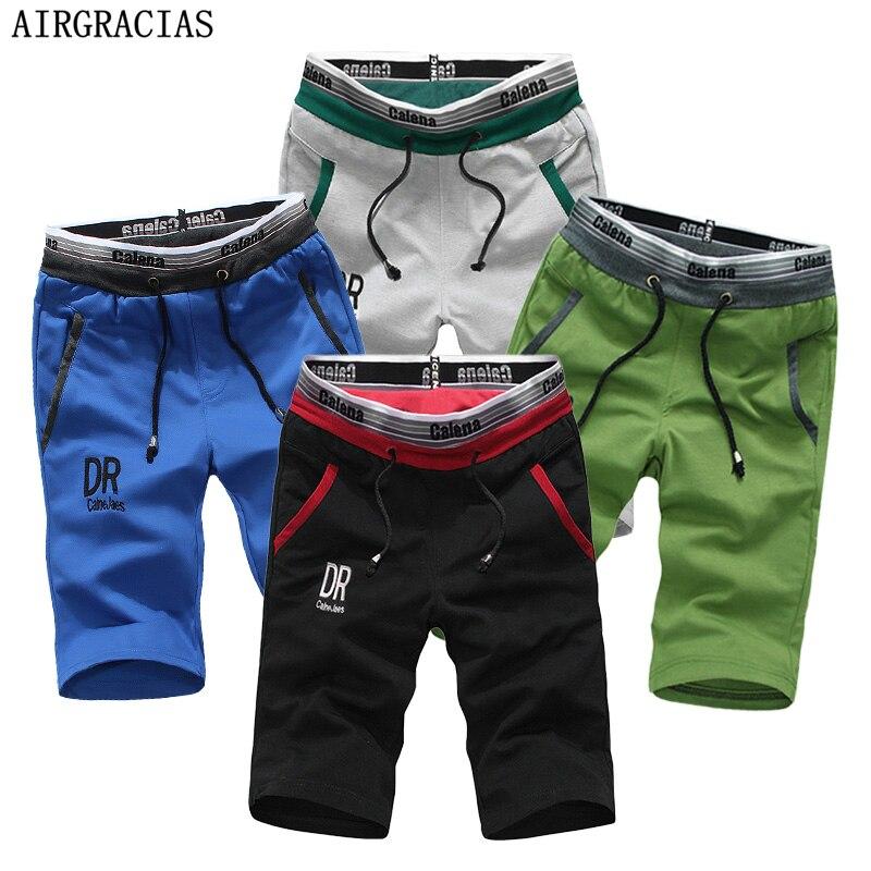 AIRGRACIAS 4Pcs Mens Summer Beach Shorts Casual Men Running Sweatpants US/Euro Size S-XXL Clothing Sweat Shorts