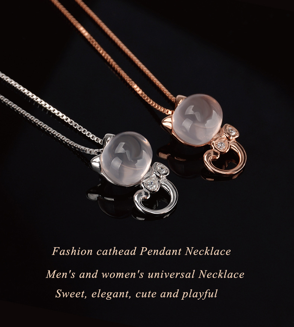 Natural ite Crystal Silver Fashion Jewelry Pendant