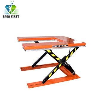 mini hydraulic electric 300kg 500kg customized lifting U Type Scissor Lift Table