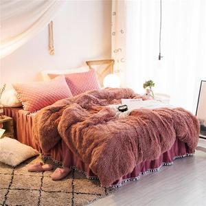 50 супер мягкое длинное мохнатое пушистое меховое теплое элегантное уютное одеяло из искусственного меха с пушистой шерпой зимнее одеяло s д...