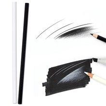 Brutfuner 5Pcs matite di colore bianco matite colorate in legno a base di olio per disegnare evidenzia penna schizzo matita forniture d'arte