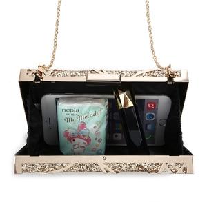 Image 5 - โลหะเรขาคณิตทองคลัทช์คุณภาพสูงเลื่อมคลัทช์กระเป๋าถือหรูผู้หญิงกระเป๋าออกแบบกระเป๋าสะพายZD1349