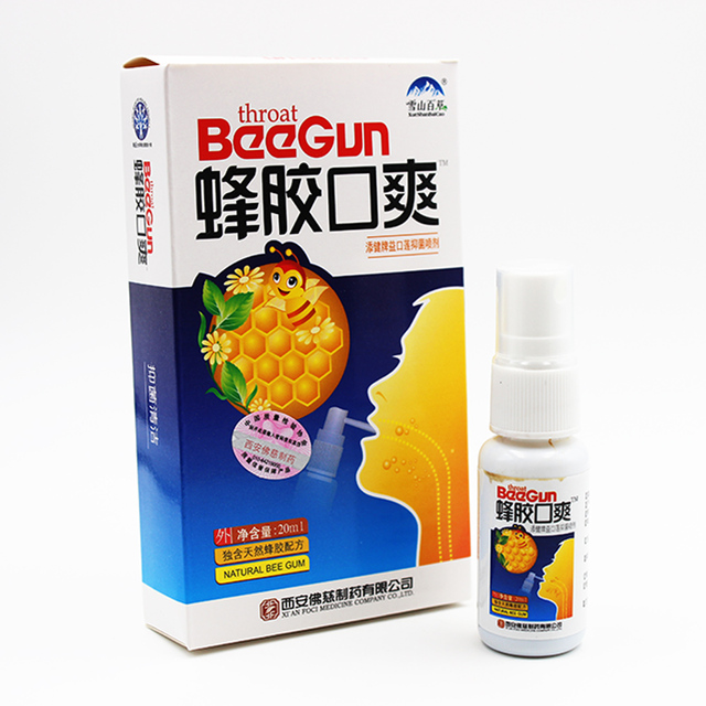 20Ml Natuurlijke Kruiden Mond Schoon Luchtverfrisser Spray Bee Propolis Antibacteriële Orale Spray Aften Kiespijn Slechte Adem Behandeling