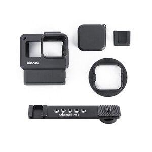 Image 5 - Ulanzi V2 プロスポーツカメラケージvlogケース保護ケージマイクビデオライト 52 ミリメートルフィルターマイクアダプタ移動プロヒーロー 7 6 5