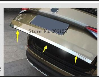 For Skoda Kodiaq 2017 - 2018 2019 Stainless Steel Rear Tail Trunk Gate Molding Cover Trim 1pcs Car Styling accessories!