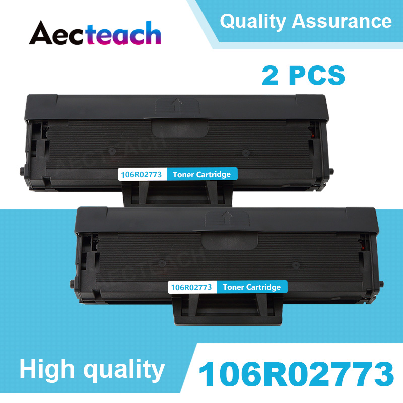 Aecteach 2 PCS 106R02773 For Xerox 3020 3025 Phaser 3020 WorkCentre 3025 WC3025 Laser Printer Refill Toner Cartridge