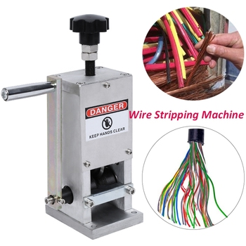 1.5-25mm Scrap Wire Stripping Machine Cable Manual Stripper Metal Recycle Tool Copper Wire Stripper Domestic Delivery 1pc enameled wire stripping machine varnished wire stripper enameled copper wire stripper xc 0312