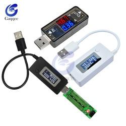 USB Mini miernik napięcia prądu ekran LCD przenośna mobilna ładowarka sieciowa detektor telefon woltomierz lekarz w Testery akumulatorów od Narzędzia na