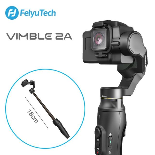 FeiyuTech Vimble 2A Action Kamera Gimbal Handheld Stabilisator mit 18cm Verlängerung Pol video vlog Gimbal für Gopro Hero 5 6 7