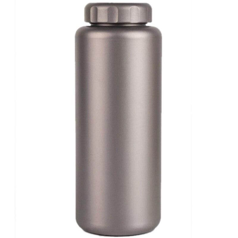 1050 мл походная домашняя емкость, большой титановый чайник, легкая большая бутылка для воды, стакан для воды для пикника