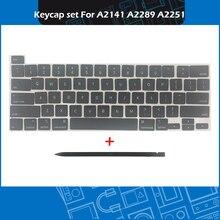 Key-Cap-Set Keycaps-Keys Keyboard-Repair Macbook Azerty A2289 A2251 Laptop A2141