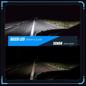 AILEO мини 1:1 CAN BUS 6500K холодный белый D1S D1R D2S D2R D3S D3R D4S D4R автомобилей головной светильник лампы 110W 25000LM авто светильник светодиодный комплект обновления|Передние LED-фары для авто|   | АлиЭкспресс