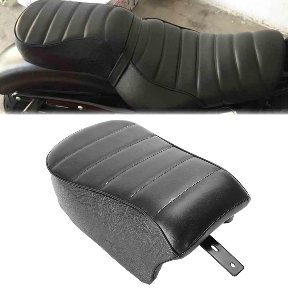 REAR PASSENGER SEAT WITH PILLION PAD FIT FOR Harley XL883 XL1200 X48