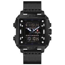 KADEMAN NEW TOP Brand Mens Watches Relogio Masculino Multi-function Waterproof Sports Military Leather Strap Quartz Watch reloj все цены