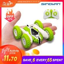 Sinovan Hugine RCรถ2.4G 4CH Stunt Drift DeformationรถRock Crawlerม้วน360องศาเด็กหุ่นยนต์RC Carsของเล่น