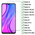 Tempered-Glass Screen-Protector 10x-Note 8T 8A Xiaomi for Redmi 9-8/8a/10x 8/8t/9s/..