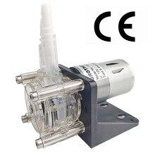 Перистальтический насос постоянного тока 12/24 в большой дозирующий насос вакуумный аквариум лабораторный аналитический 500 мл/мин.
