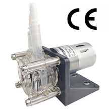 DC 12/24V Peristaltic Pump Large Flow Dosing Pump Vacuum Aquarium Lab Analytical  500ml/min