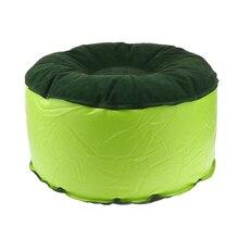 Мягкий надувной табурет для кемпинга удобный воздушный стул для детской комнаты украшение взрослых тренажерный зал Йога Многофункциональный зеленый