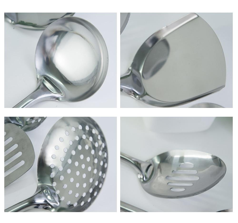 Letcase Stainless Steel Cooking Utensils Set