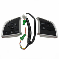 Cable Spare Buttons Replacement Phone Steering Wheel Volume Switch Set Auto Cruise Control Parts Durable For Mitsubishi
