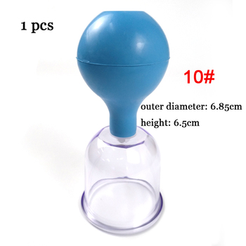 Rubber Vacuum Cupping Glasses Chineses Cupping Massage Body Cups Anti Cellulite Cupping Massage Vacuum Therapy Massage Tool 6