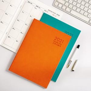 2021 Agenda Planner Organizer A5/B5 Notebooks and Journals Office Note Book Weekly Monthly Plan Schedule Travel Writing Handbook