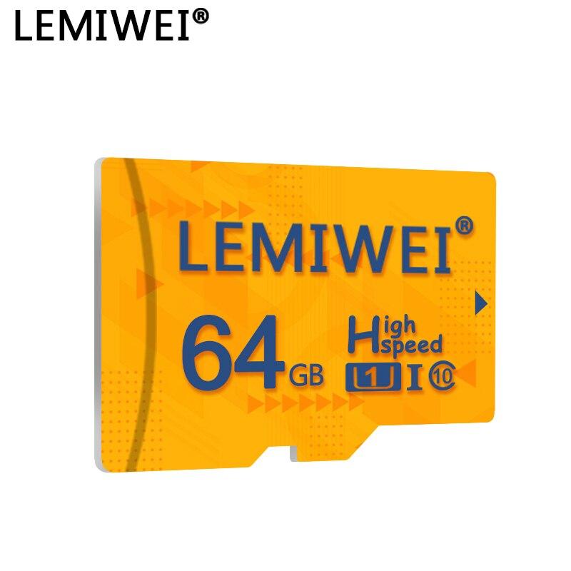 Высококачественная TF-карта Lemiwei 8 Гб 16 Гб 64 Гб класс 10 Micro SD карта водонепроницаемая 32 ГБ флэш-карты памяти для смартфона планшета ПК
