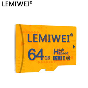 Lemiwei high quality TF Card 8GB 16GB 64GB class 10 micro sd card Waterproof 32GB flash memory cards for smartphone tablet PC