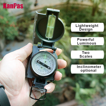 2021New military compass  sighting lensatic compass/ Inclinometer compasses professionals for hiking, camping, outdoor 6